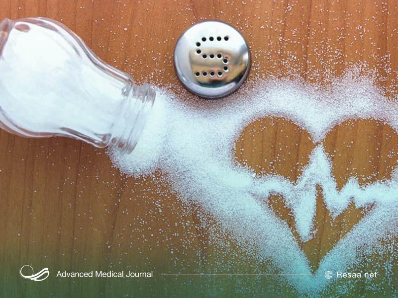 کاهش مصرف نمک و کنترل فشار خون