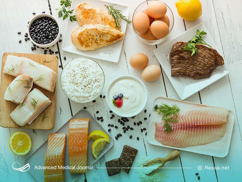 رژیم غذایی مناسب برای فشارخون بالا