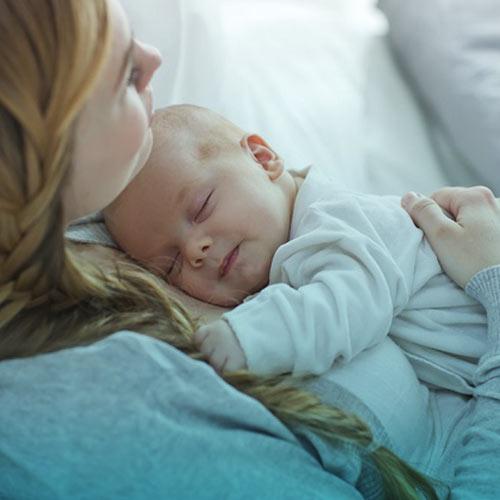 تنظیم خواب نوزاد