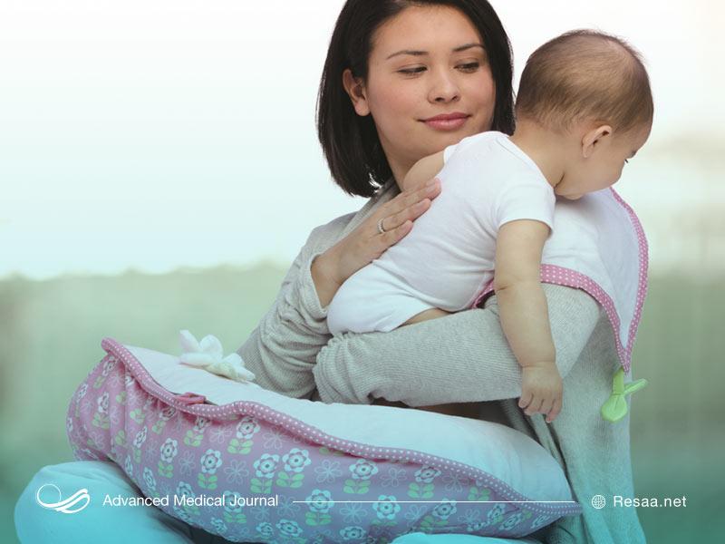 درمان رفلاکس معده نوزادان