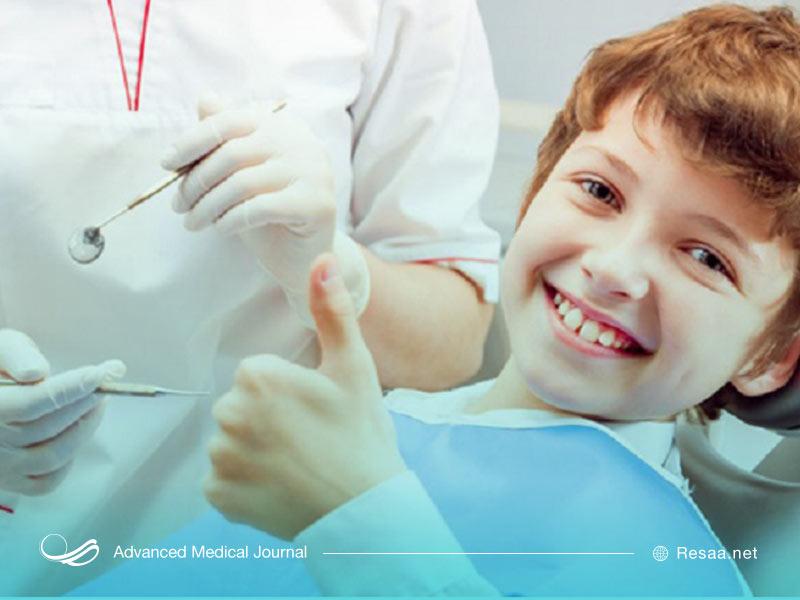 کودک در مطب دندانپزشک