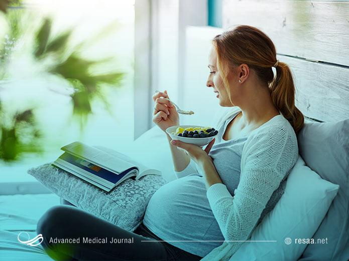 بهترین رژیم برای دوران بارداری