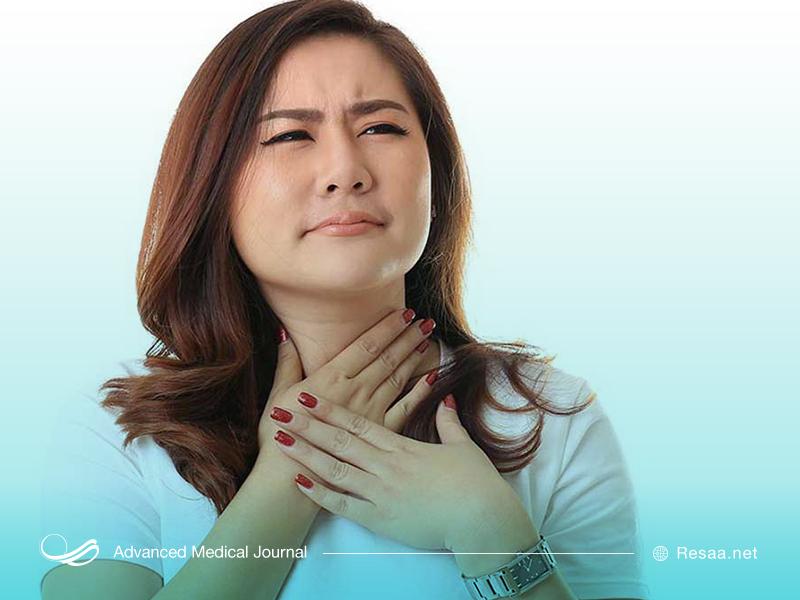 چرا گلویمان خشک میشود