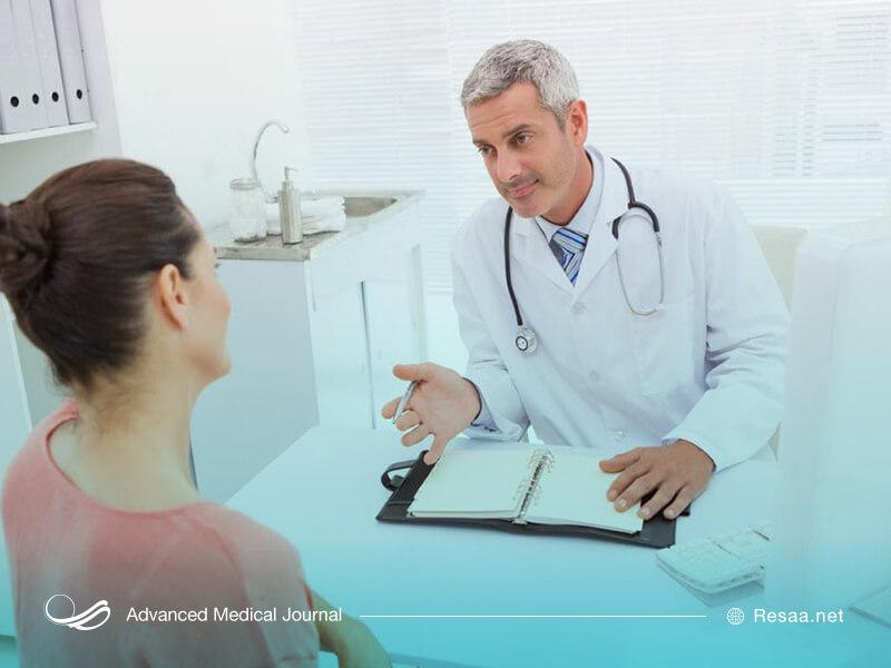 در صورت شدت گرفتن علائم به پزشک مراجعه کنید.