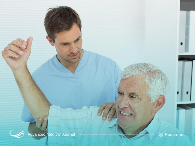 فیزیوتراپی میتواند به کاهش درد فیزیکی بازو کمک کند.