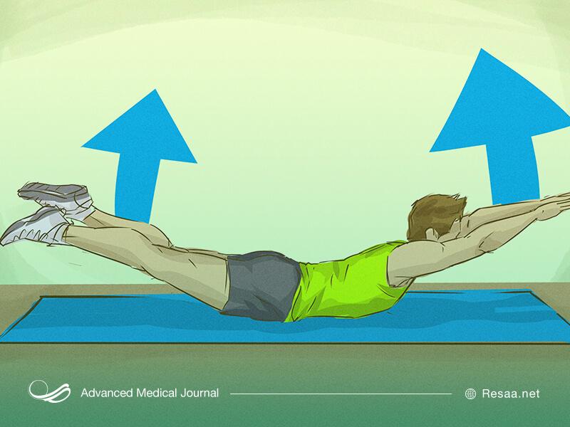 تمرینات ورزشی برای پیشگیری از کیفوز