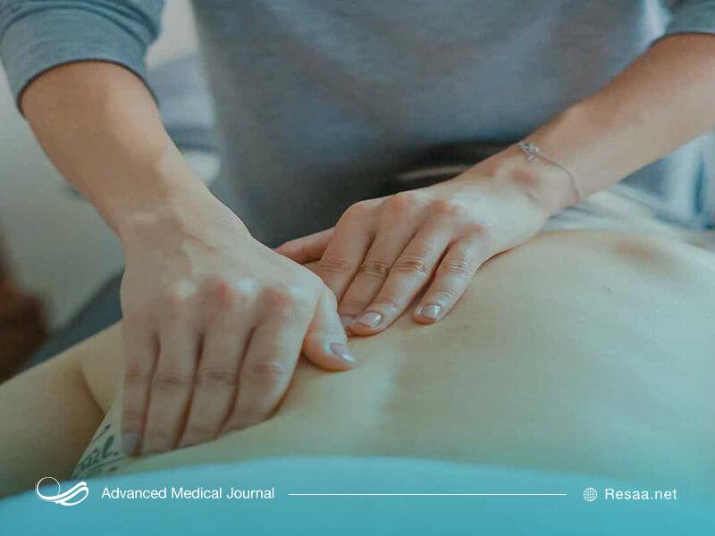 ماساژ درمانی برای بهبود درد کمر
