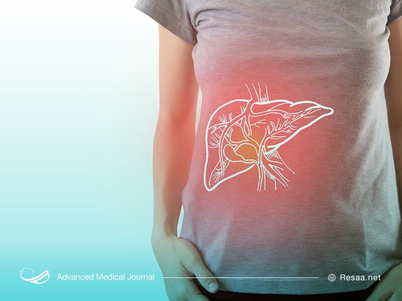 التهاب کبد باعث بزرگ شدن کبد میشود.