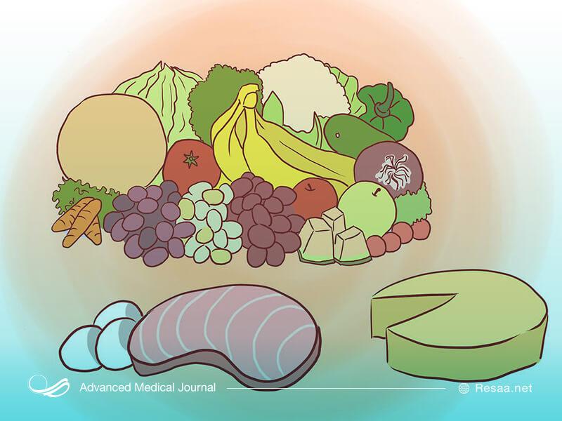 رژیم غذایی مناسب به شما در گذراندن بهتر دوران pms کمک بزرگی میکند.