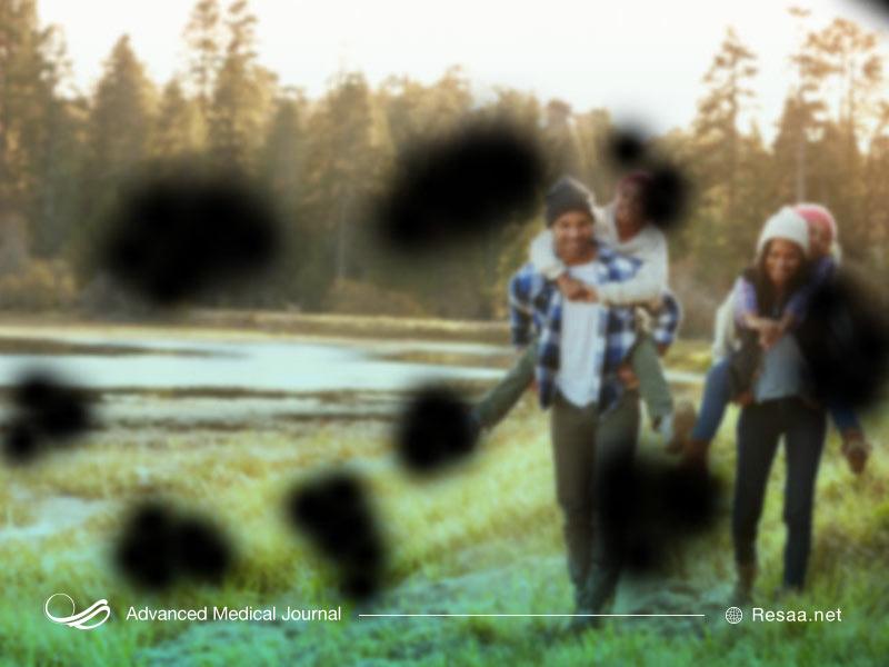 دیدن لکه های تیره در بیماری رتینوپاتی دیابتی