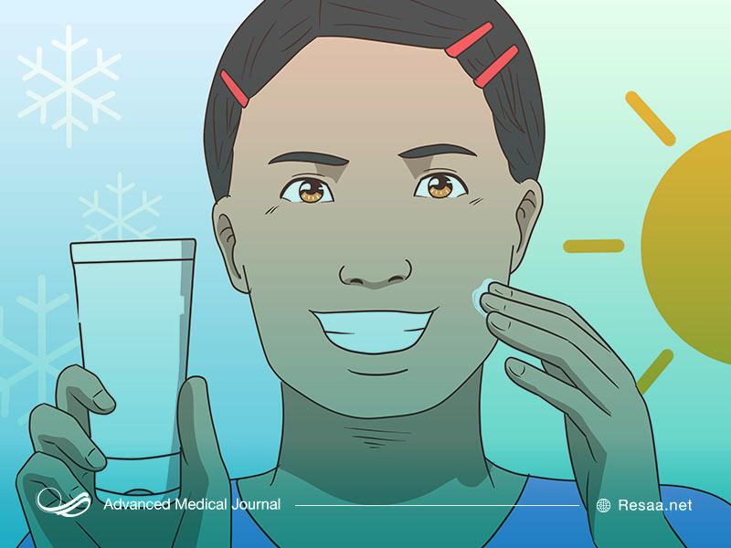 نوشیدن آب برای حفظ سلامت پوست