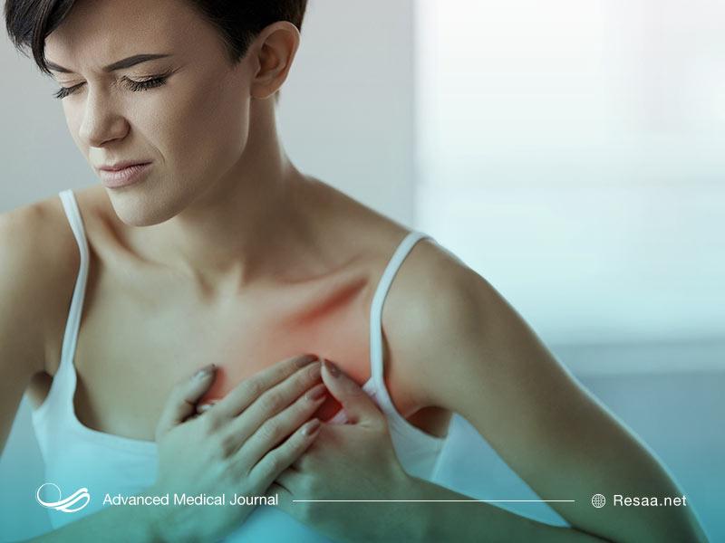 درد سینه در زمان غیر از قاعدگی