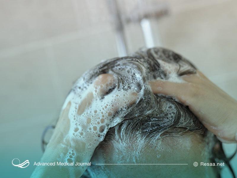نظافت موها به صورت مرتب