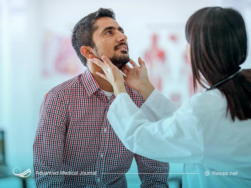 مراجعه به پزشک برای درمان پرکاری تیروئید