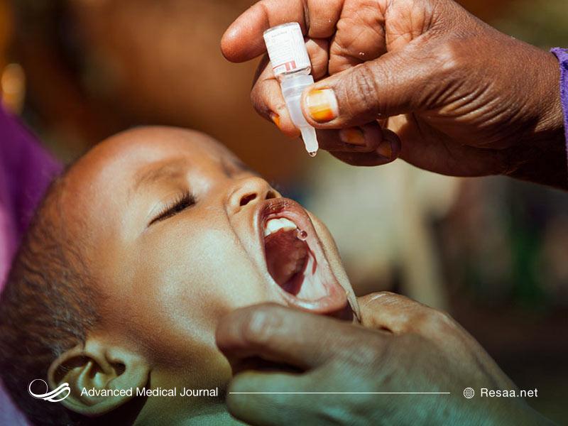 نشانه های بیماری فلج اطفال
