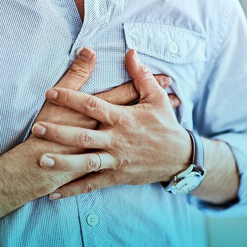 درد قفسه سینه یا آنژین صدری