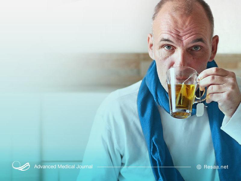 نوشیدنیهای گیاهی و درمان خارش گلو