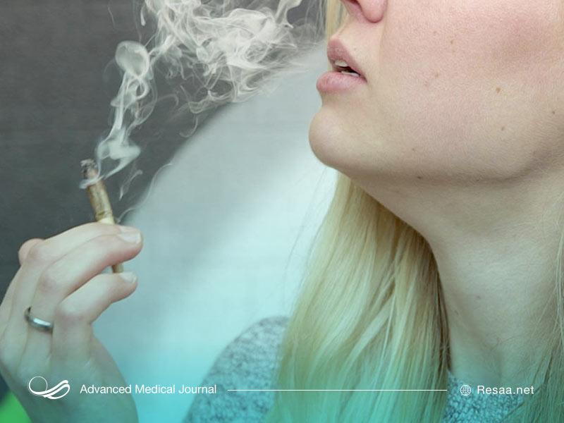 ترک سیگار و بهبود علائم خارش گلو