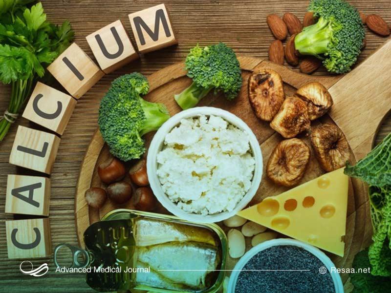 کلسیم در چه مواد غذایی وجود دارد